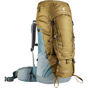 deuter Aircontact 55 + 10 Backpack, clay/teal